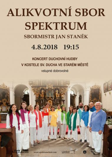 Pozvánka na koncert 4.8.2018
